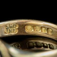 Antique Edwardian Memento Mori Skull Signet Ring 18ct Gold Dated 1902 (7 of 8)