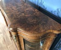 Victorian Burr Walnut Inlaid Credenza With Ormolu Mounts (19 of 27)