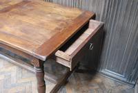 French Oak Kitchen Farmhouse Table (4 of 9)