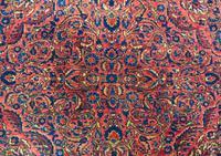 Fine Antique Saroukh Carpet / Rug (4 of 5)