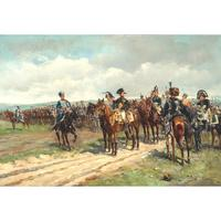 'Napoleon at Waterloo' by Guido Sigriste c.1890 (2 of 4)