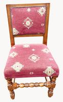 Fabulous Set of Eight Cherrywood Dining Chairs (3 of 8)