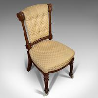 Set of 4 Antique Chairs, Scottish, Walnut, Suite, Dining, Victorian c.1890 (5 of 12)