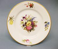 Very Fine Derby Dessert Plate c.1805