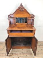 Victorian Mahogany Chiffonier with Mirror Back (3 of 10)