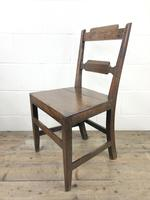 Pair of Welsh Oak Bar Back Farmhouse Chairs (2 of 15)