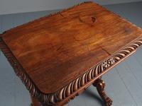 Antique Regency Mahogany Side Table (18 of 19)