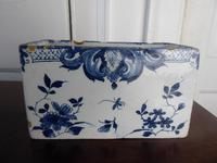 18th Century Delft Flower Brick (2 of 9)