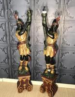 Pair of Blackamoor Figures (2 of 18)