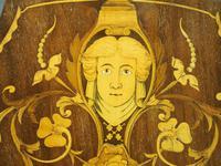 George III Style Inlaid Mahogany Side Chair (7 of 9)