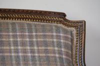 19th Century French Carved Walnut & Gilt Salon Settee (9 of 17)