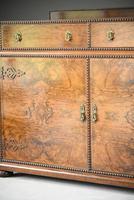 Figured Walnut Veneer Sideboard (7 of 12)