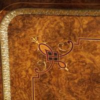 Fine Victorian Inlaid Walnut Credenza (6 of 15)