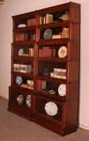 Pair of Globe Wernicke Mahogany Bookcases - 6 Elements (6 of 10)