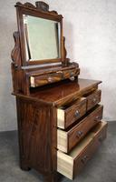 Edwardian Simulated Walnut Bedroom Suite (18 of 21)