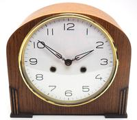 Really Good Hat Shaped Mantel Clock – Striking 8-day Arched Top Mantle Clock (2 of 10)