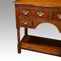 Antique Oak Small Dresser Base (10 of 11)