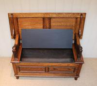 Golden Oak Monks Bench (5 of 12)