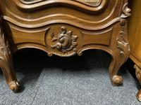 Wonderful French Walnut Bookcase or Cabinet (19 of 25)
