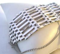 Vintage Sterling Silver Gate Bracelet 1976 St Christopher & Heart Padlock 34.3 Grams (10 of 12)