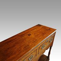 Georgian Pot Board Oak Dresser Base (5 of 13)