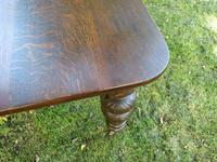 Victorian Oak Extending Table (7 of 7)