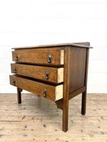Early 20th Century Oak Chest of Drawers (8 of 9)