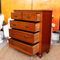 Edwardian Chest of Drawers Large (9 of 11)