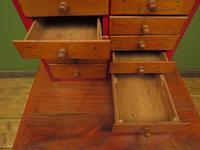Antique Miniature Scratch Built Bank of Drawers, made from Jamaican Cigar Boxes (16 of 19)