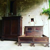Florentine Neo Renaissance Bedroom Set