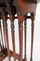 Antique Victorian Nest of 3 Mahogany Tables (8 of 13)