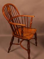 Set of 3 low Back Windsor Chairs (2 of 8)