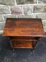 Antique Oak Table by Liberty (5 of 8)