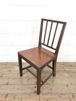 Four Similar 19th Century Stick Back Farmhouse Chairs (3 of 7)