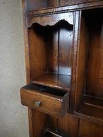 Titchmarsh & Goodwin Oak Dresser & Rack (7 of 15)