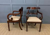 Excellent Pair of Regency Mahogany Scroll Armchairs (6 of 17)