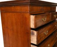 Georgian Chest on Chest Mahogany Antique 1820 (13 of 16)