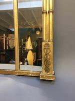 19th Century Gilt Overmantel Mirror (7 of 10)