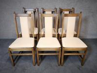 Set of Six Ercol Golden Dawn Dining Chairs
