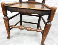 Set of 4 Early 19th Century Country Dining Chairs (6 of 8)