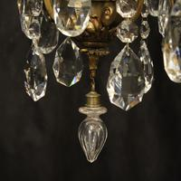 French Bronze 12 Light Antique Chandelier (9 of 10)