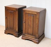 Pair of Oak Bedside Cabinets (8 of 12)