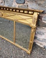 Fine Regency Giltwood Overmantle Mirror (5 of 6)