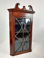 Pair of Glazed Corner Cupboards (2 of 7)