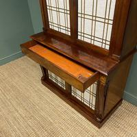 Mahogany Antique Bookcase Cupboard – Charles C Gray 1848 (7 of 9)