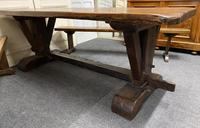 Rustic Oak Farmhouse Table & Bench Set (23 of 29)