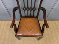 Set of 8 Mahogany Chippendale Style Dining Chairs (12 of 13)