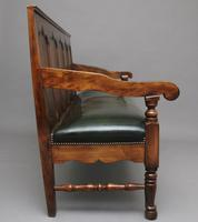 18th Century oak and fruitwood settle (7 of 11)