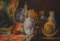 Pair of Still-life Oil Paintings by A Bonnefoy (5 of 13)