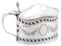 Sterling Silver Condiment Set - Antique George V (7 of 24)